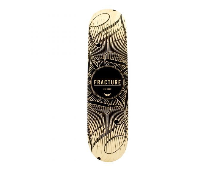 Fracture DB15 Deck Black 8.0