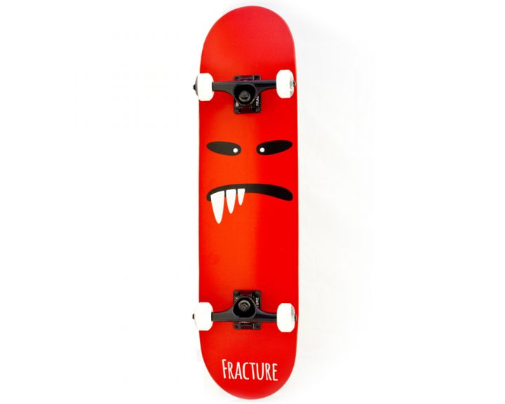 Fracture Lil Monsters V2 Red Complete 7.75