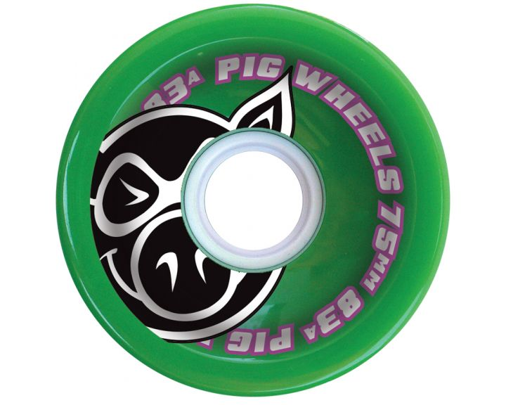 Pig Voyager Green Wheel 75mm 83a