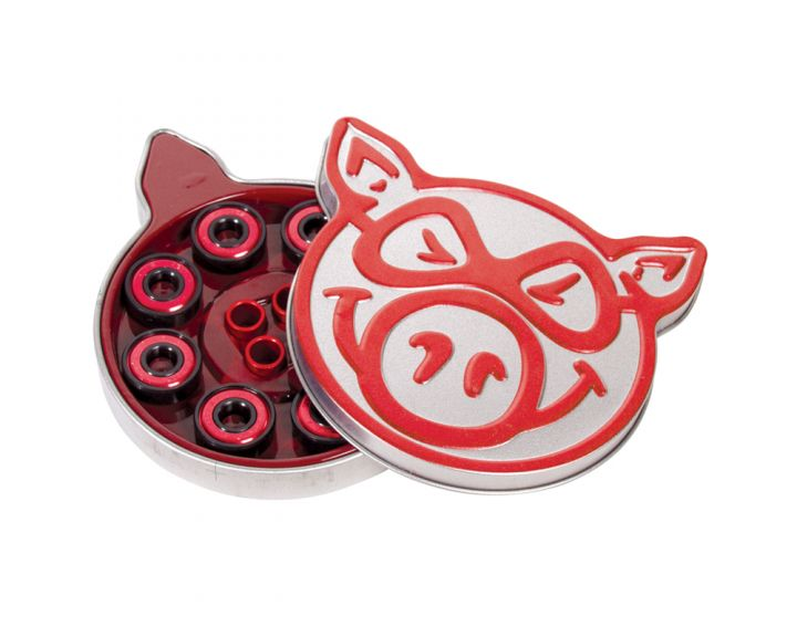 Pig Abec 5 Red Bearings