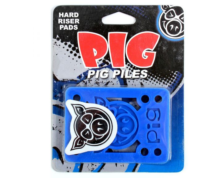 "Pig Piles Shockpads 1/8"" Risers Blue"