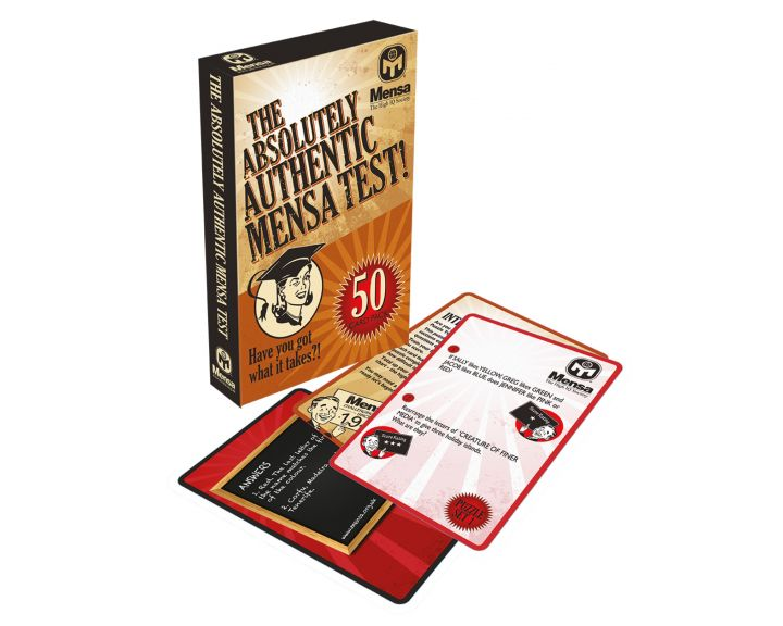 Mensa The Absolutely Authentic Mensa Test! - 12 Pack