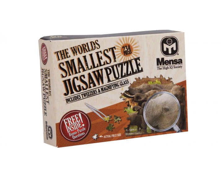 Mensa Worlds Smallest Jigsaw - 12 Pack