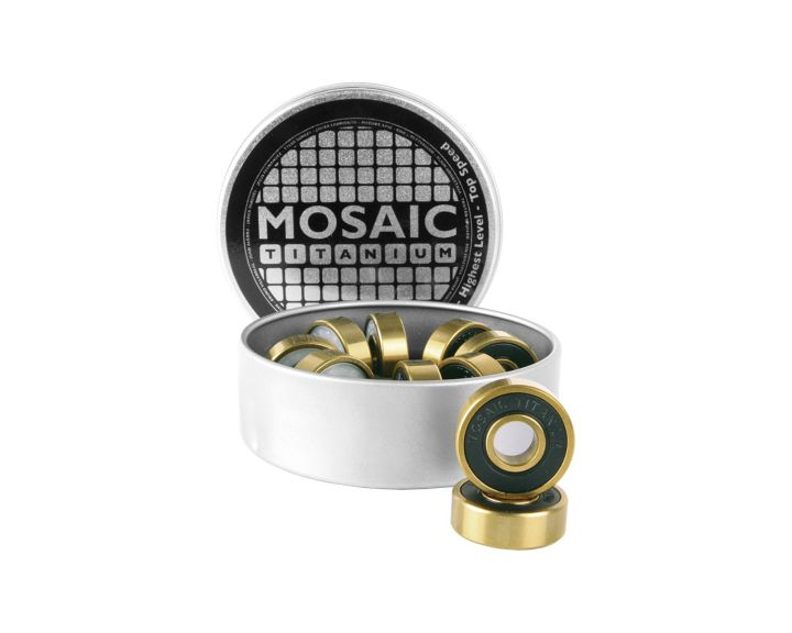 Mosaic Super Titanium 1 Abec 7 Bearings