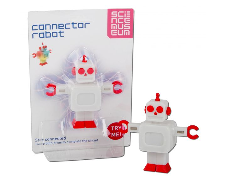 Science Museum Connector Robot - 12 Pack