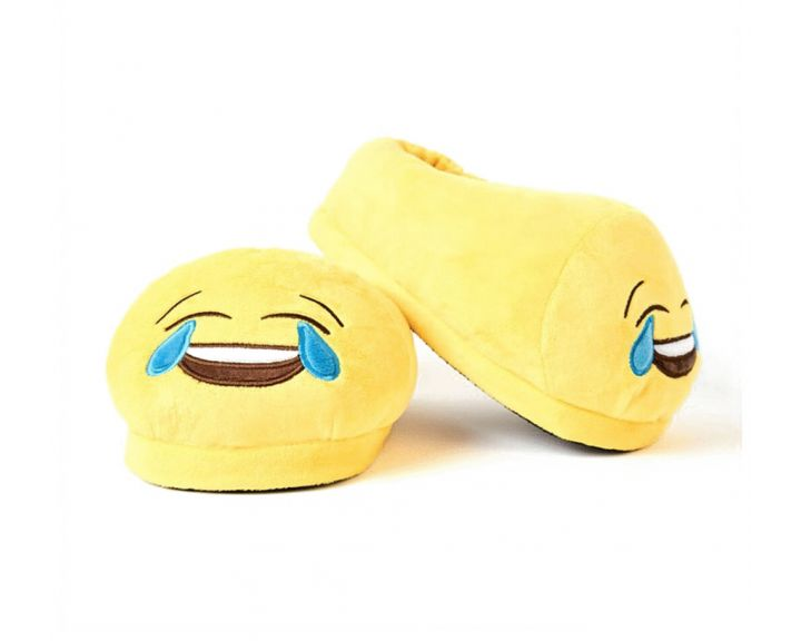 Love Bomb Crying with Laughter Foot Cushion