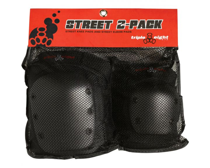 Triple 8 Street Protective 2 Pc Pad Set