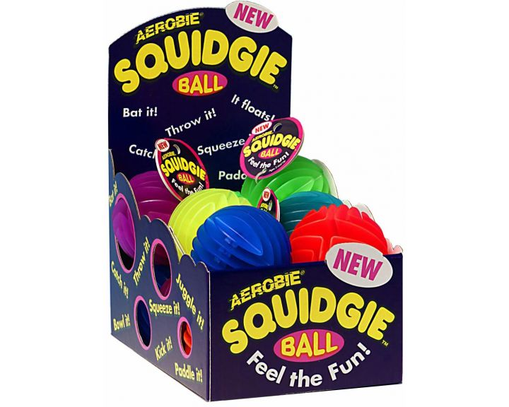 Aerobie Squidgie Ball -12 Display Tray