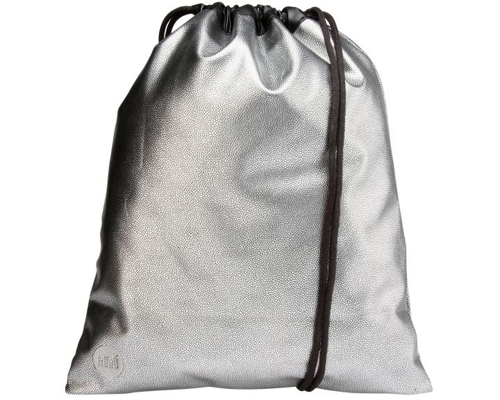 Mi-Pac Kit Bag Pebbled Silver/Black
