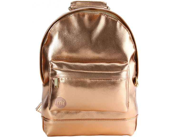 Mi-Pac Mini Backpack Metallic Rose Gold