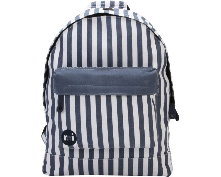Mi-Pac Backpack Seaside Stripe Blue