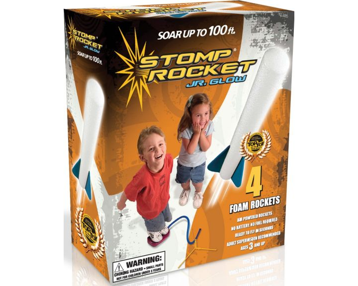 STOMP Rocket Jr Glow - 10 Pack