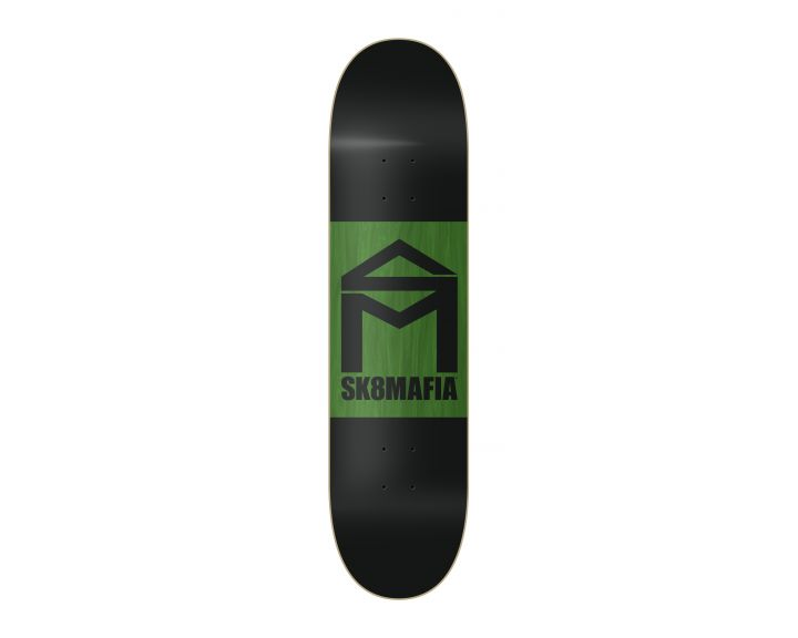 SK8MAFIA House Logo Double Dip Black 8.0
