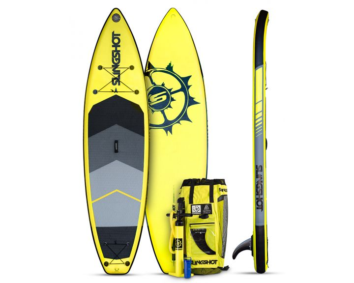 Slingshot 2017 Crossbreed Airtech Inflatable SUP 11ft - Yellow