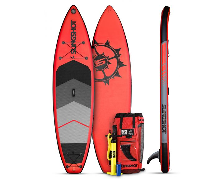 Slingshot 2017 Crossbreed Airtech Inflatable SUP 11ft - Red