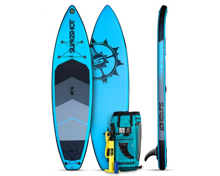 Slingshot 2017 Crossbreed Airtech Inflatable SUP 11ft - Blue
