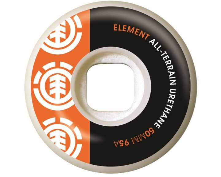 Element Wheel Section Org/Blk 50mm