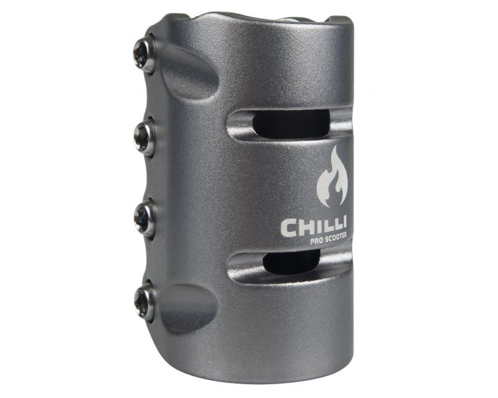 Chilli SCS 4 Bolt Clamp Grey