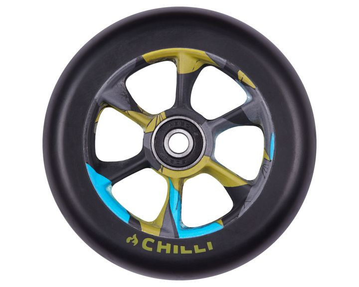Chilli Turbo Wheel 110mm Black/Urban Jungle