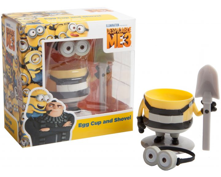 Minions Egg Cup and Shovel (Despicable Me 3) - 6 Pack