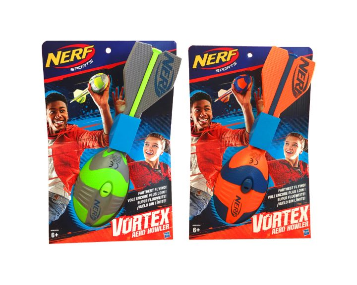 NERF Sports Vortex Aero Howler - 3 Pack