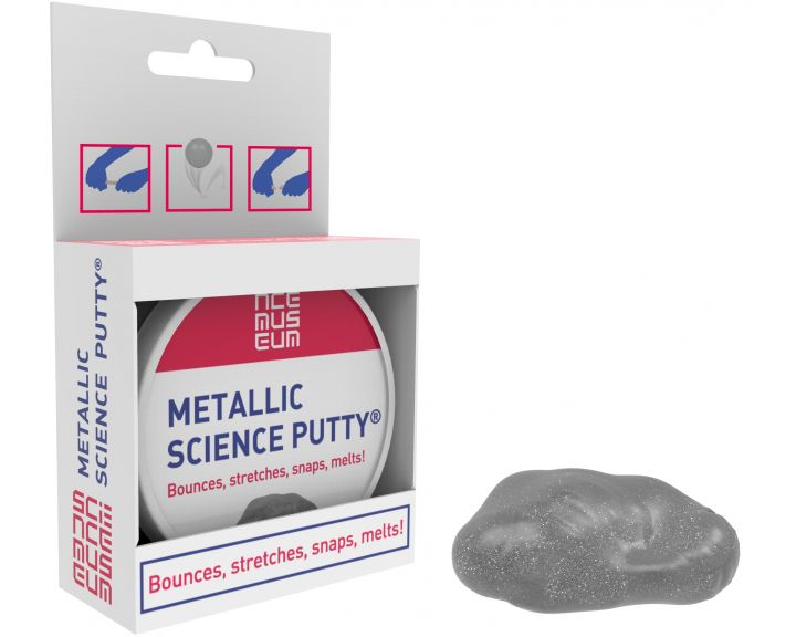 Science Museum Science Putty Tin Metallic - 6 Pack