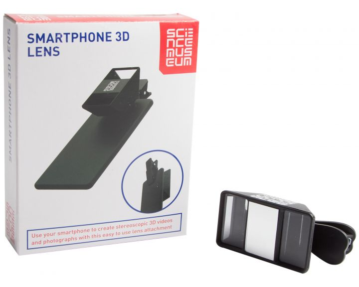 Science Museum Smartphone 3D Lens - 6 Pack