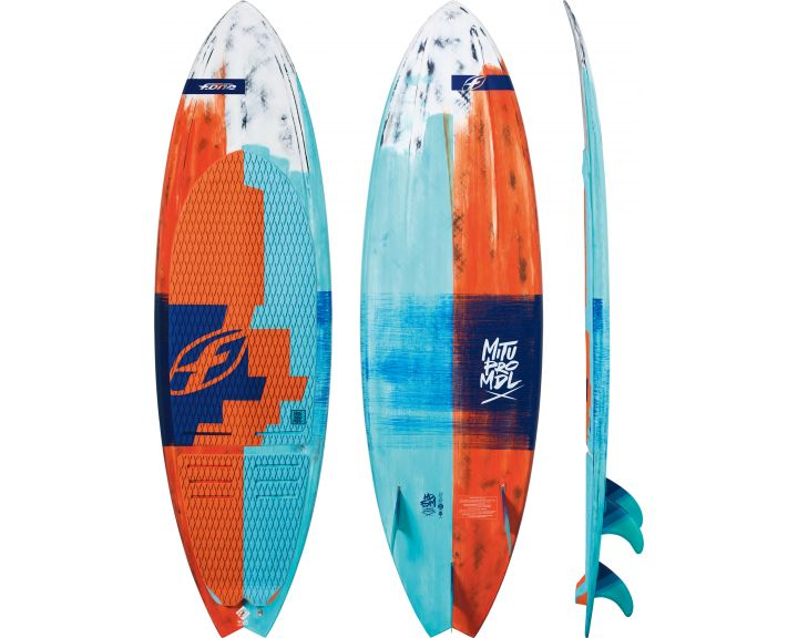 F-One 2018 Mitu Carbon 5ft8 Surfboard