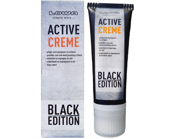 Lowa Active Creme Black 75ml