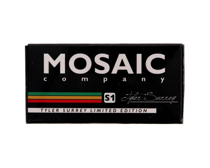 Mosaic Super 1Tyler Surrey Abec 7 Bearings Black