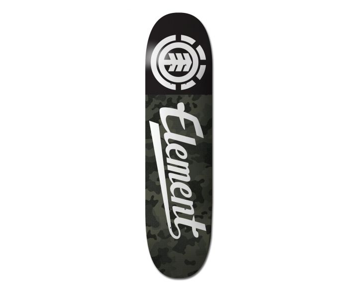 Element Featherlight Bark Camo Script 7.75