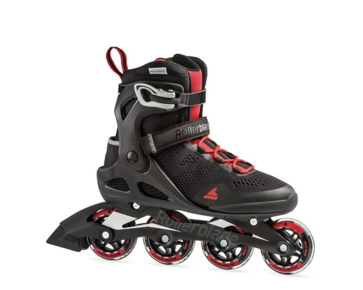 Rollerblade 2019 Macroblade 80 Black / Red