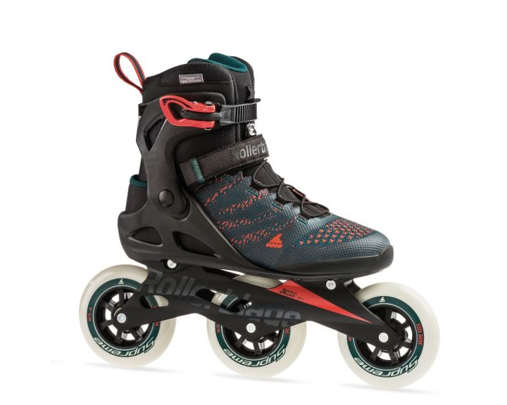 Rollerblade 2019 Macroblade 110 3WD Teal / Orange