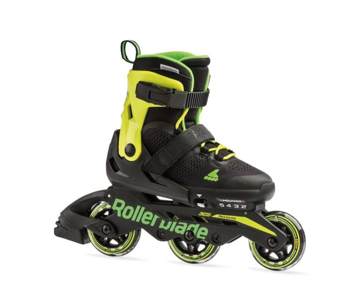 Rollerblade 2019 Microblade 3WD Black / Lime
