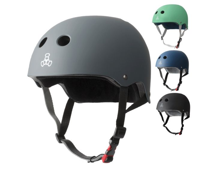 Triple 8 Sweatsaver Certified Rubber Helmet Asst. colours