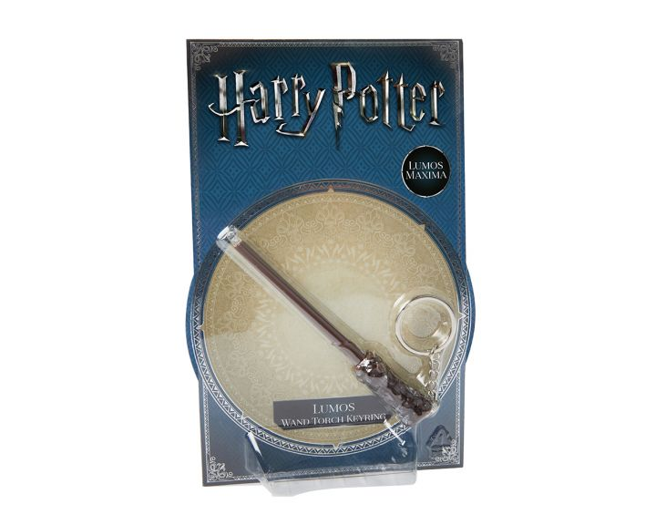 Wizarding World Lumos Wand Torch Keyring - 12 PK