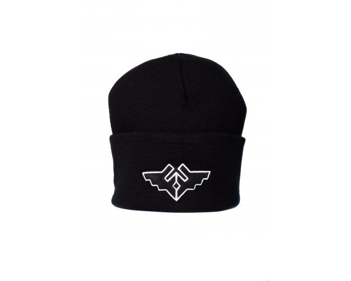 Fracture Wings Beanie Black