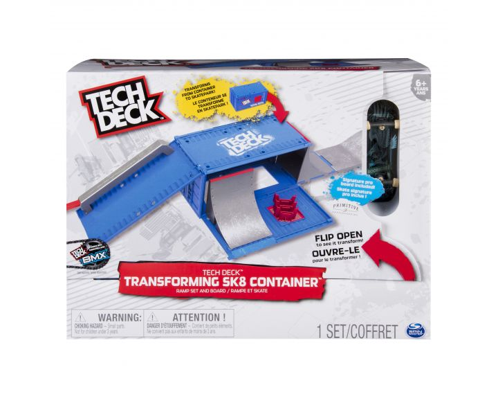 Tech Deck Fingerboard SK8 Container - 2 PK