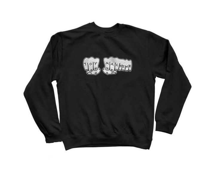 Toy Machine Fists 2019 Sweatshirt Black