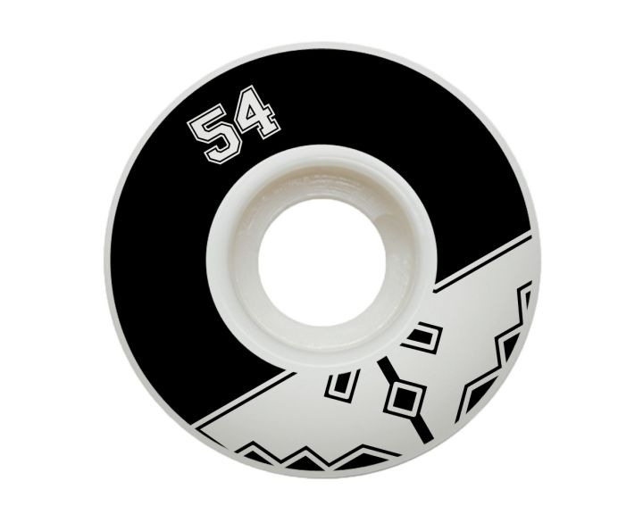 Fracture Uni Classic Wheel 54mm Black - 4 Pack