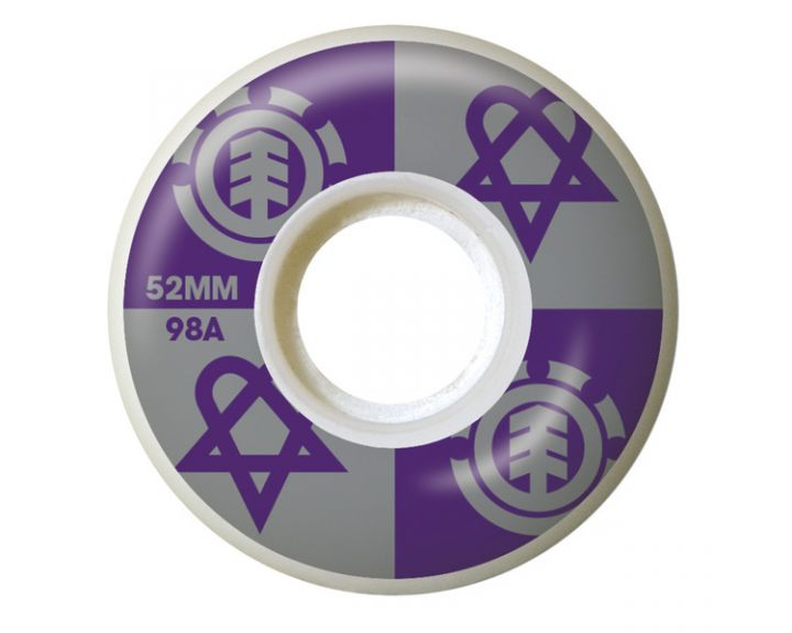 Element Wheels Bam Heartagram 52mm