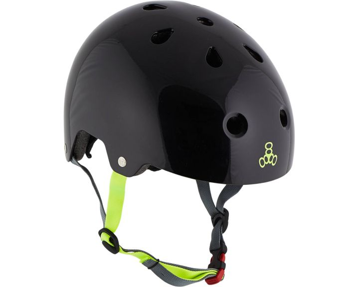 Triple 8 Brainsaver w/ EPS Helmet Gloss - Various Colours