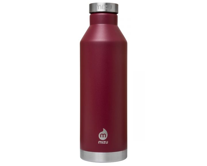 Mizu V8 insulated Water Bottle - Burgundy