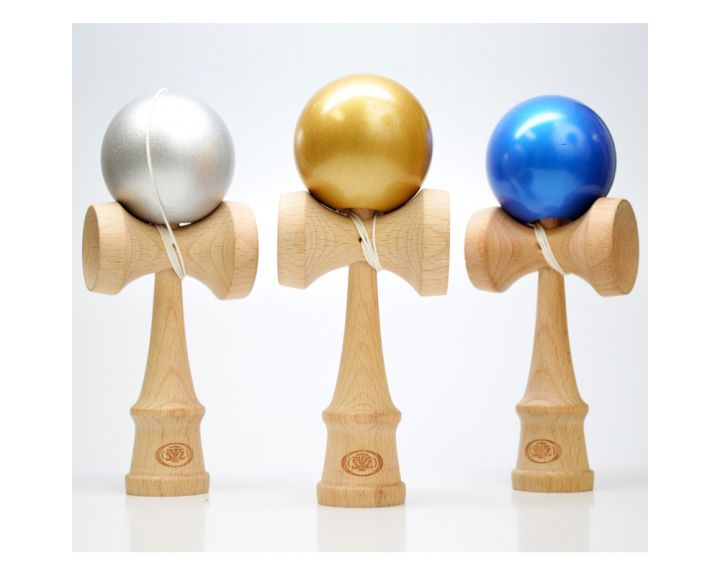 Kendama Pro Metallic Wooden - 6 Pack