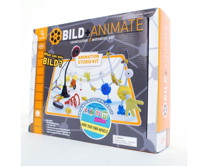 Ogo Bild Animate Set with Camera - 4 Pack