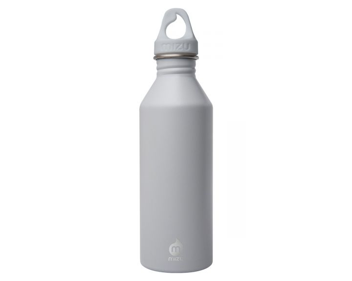 Mizu M8 Water Bottle - Light Grey