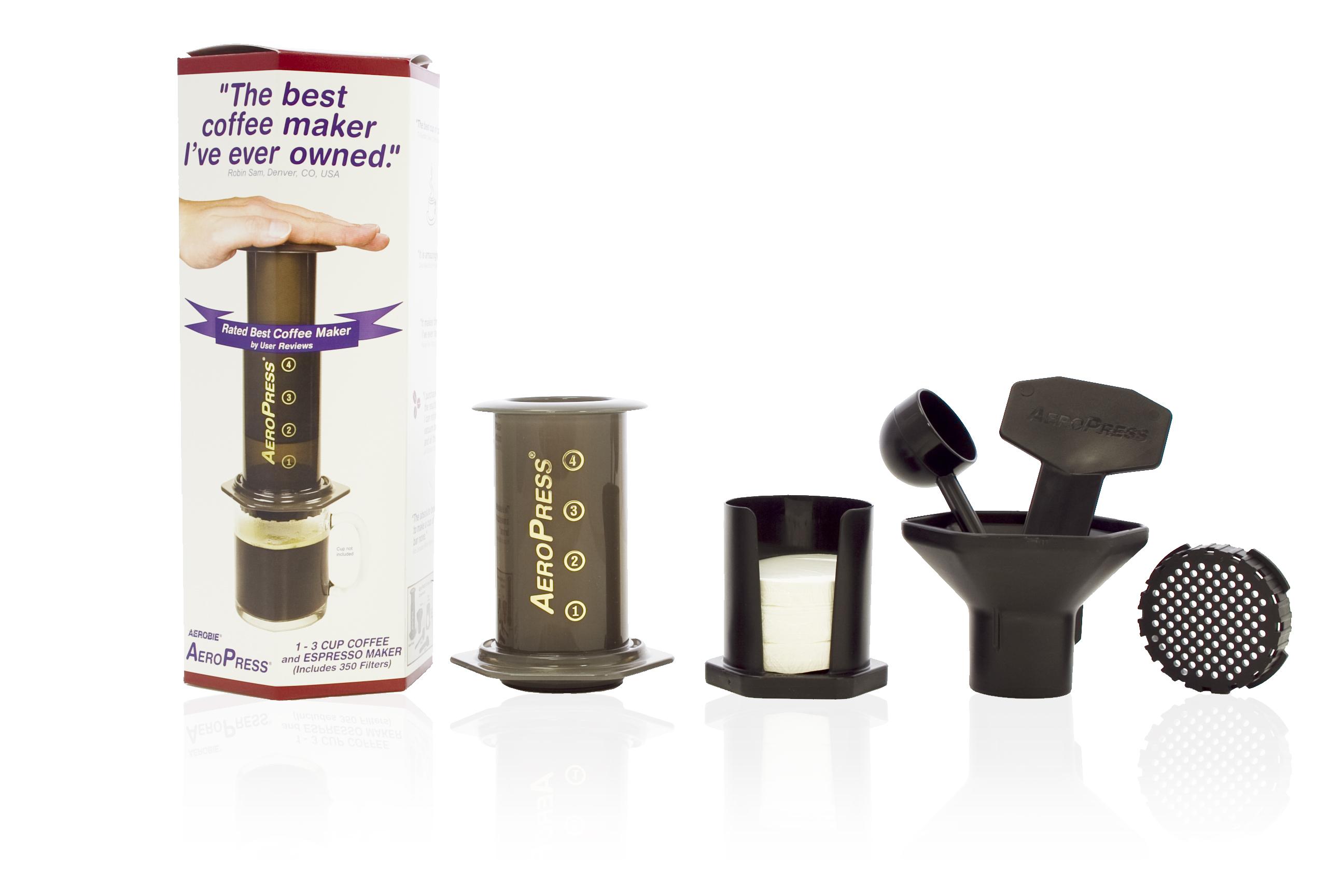 Aeropress Coffee Maker Test : Buy Aeropress Coffee Maker - 11 Pack from TKC Sales Ltd.
