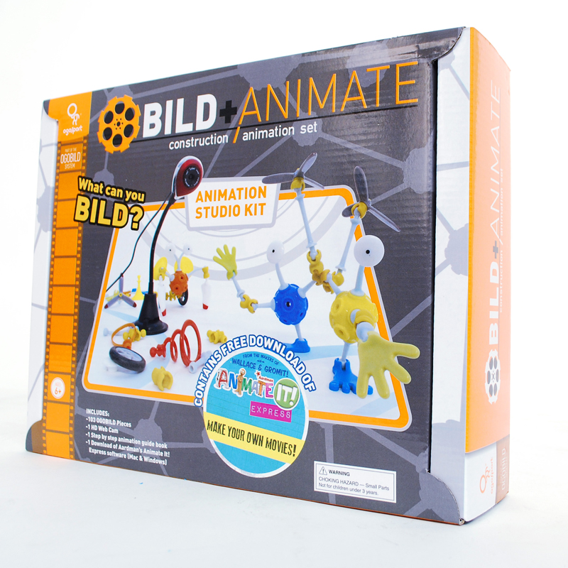 OgoBild Animate It Studio Kit w/ Webcam - Woot